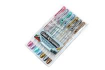 Yasutomo Y&C Gel Xtreme Gel Pen - 0.7 mm - Metallic 7 Color Set - YASUTOMO GX1007