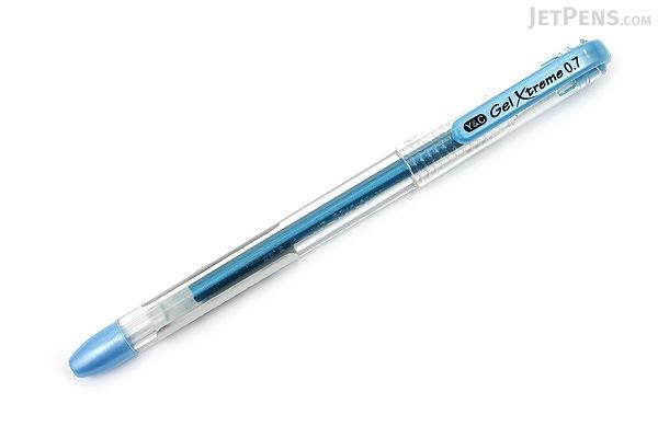 Yasutomo Y&C Gel Xtreme Gel Pen - 0.7 mm - Metallic Blue - YASUTOMO GX100C