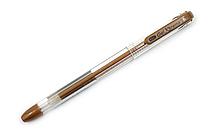 Yasutomo Y&C Gel Xtreme Gel Pen - 0.7 mm - Metallic Bronze - YASUTOMO GX100Z