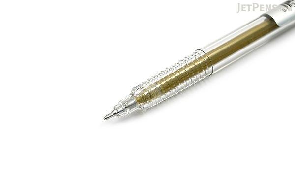 Yasutomo Y&C Gel Xtreme Gel Pen - 0.7 mm - Metallic Gold - YASUTOMO GX100G