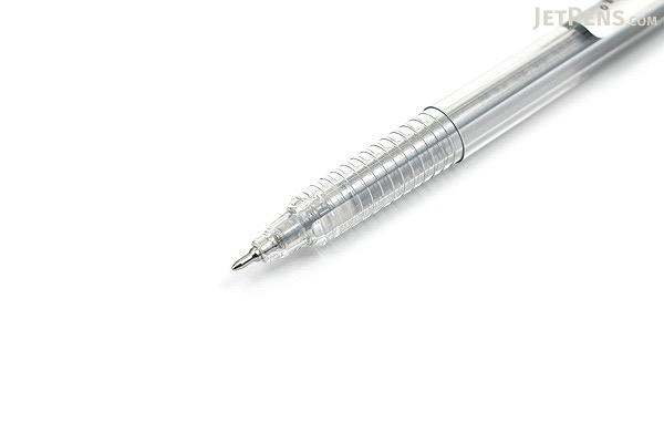 Yasutomo Y&C Gel Xtreme Gel Pen - 0.7 mm - Metallic Silver - YASUTOMO GX100S