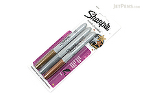 Sharpie Metallic Permanent Marker - Fine Point - 3 Color Set - SHARPIE 1823815