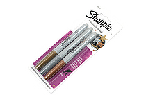 Sharpie Metallic Permanent Marker - Fine Point - 3 Color Set - SHARPIE 1823815