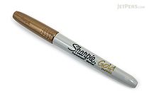 Sharpie Metallic Permanent Marker - Fine Point - Gold - SHARPIE 1823889