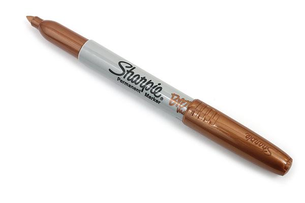 Sharpie Metallic Permanent Marker - Fine Point - Bronze - SHARPIE 1823890