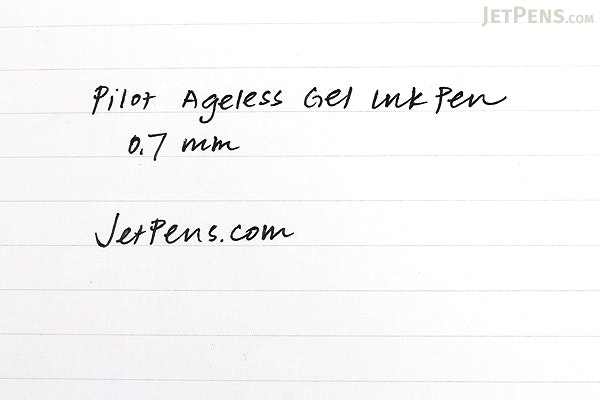Pilot Ageless Future Gel Pen - 0.7 mm - Carbon Black Gray Body - PILOT 61040