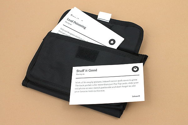 Inkwell Bag + Tip Cards - INKWELL PBP 2