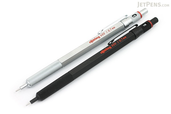 Rotring 600 Drafting Pencil - 0.7 mm - Black Body - ROTRING 1904442