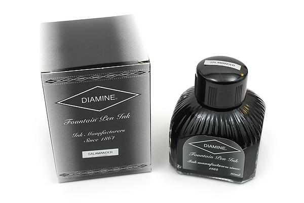 Diamine Fountain Pen Ink - 80 ml - Salamander (Green) - DIAMINE INK 7101