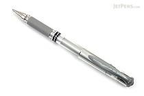 Uni-ball Gel Impact Gel Pen - 1.0 mm - Silver - UNI-BALL 60758