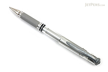 Uni-ball Gel Impact Gel Pen - 1.0 mm - Silver - UNI-BALL 60758