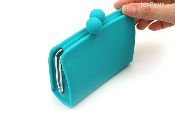 P+G Sepa-Pochi Card and Coin Case - Turquoise - P+G SEPAPO TQ
