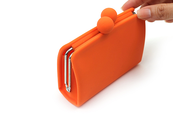 P+G Sepa-Pochi Card and Coin Case - Orange - P+G SEPAPO OR