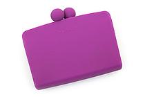 P+G Sepa-Pochi Card and Coin Case - Purple - P+G SEPAPO PL