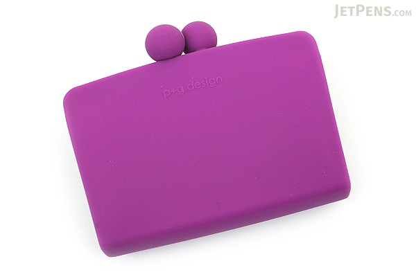 P+G Sepa-Pochi Card and Coin Case - Purple - P+G SEPAPO PL