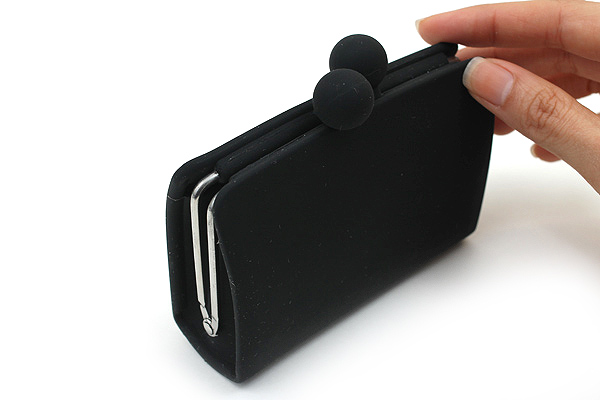 P+G Sepa-Pochi Card and Coin Case - Black - P+G SEPAPO BK
