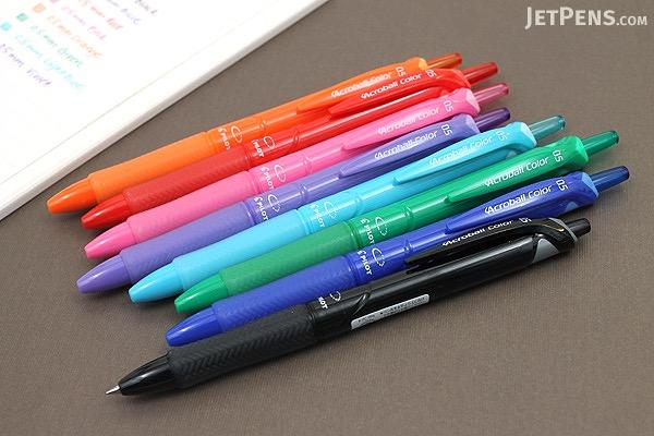 Pilot Acroball Color Ballpoint Pen - 0.5 mm - Violet - PILOT BAB-15EFC-V