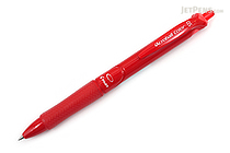 Pilot Acroball Color Ballpoint Pen - 0.5 mm - Red - PILOT BAB-15EFC-R