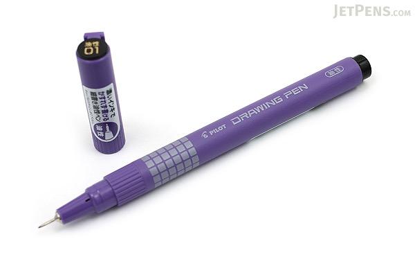 Pilot Drawing Pen - Oil-Based Ink - 01 - Black - PILOT M-20DRN1-B