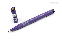 Pilot Drawing Pen - Oil-Based Ink - 03 - Black - PILOT M-20DRN3-B