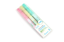 Pilot FriXion Light Soft Color Erasable Highlighter - 3 Color Set - PILOT SFL-30SL-3CS