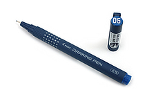 Pilot Drawing Pen - Water-Based Ink - 05 - Blue - PILOT S-15DRN5-L