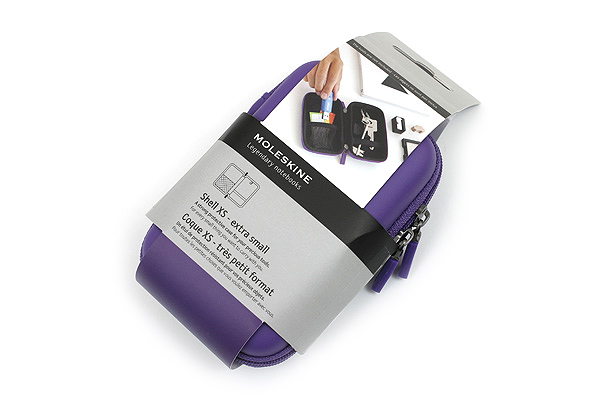 Moleskine Travelling Collection Shell Case - XS - Brilliant Violet - MOLESKINE 978-88-6613-809-9