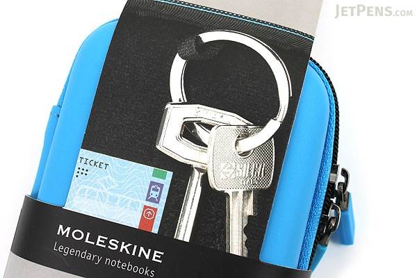 Moleskine Travelling Collection Shell Case - XS - Cerulean Blue - MOLESKINE 978-88-6613-273-8