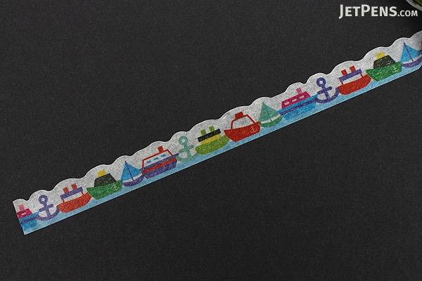 Pine Book Nami Nami Deco Washi Tape - 8 mm - Cruiser - PINE BOOK TM00114