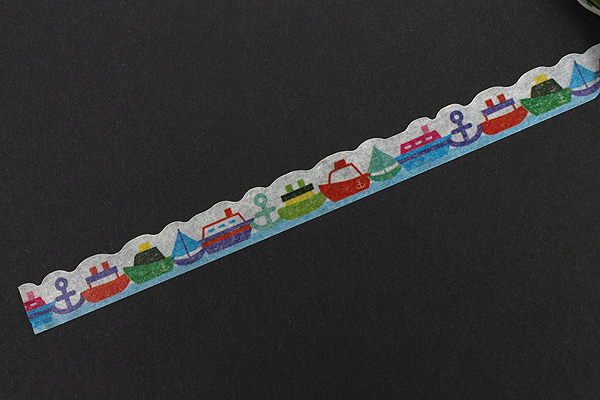 Pine Book Nami Nami Deco Washi Tape - 8 mm - Cruiser - PINE BOOK TM00114
