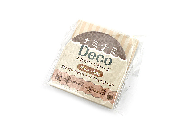 Pine Book Nami Nami Deco Washi Tape - 8 mm - Antique Key - PINE BOOK TM00082