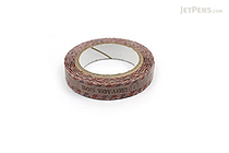 Pine Book Nami Nami Deco Washi Tape - 8 mm - Antique Stamp - PINE BOOK TM00083