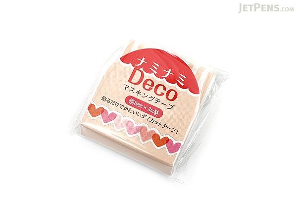 Pine Book Nami Nami Deco Washi Tape - 8 mm - Heart - PINE BOOK TM00072