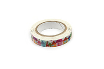 Pine Book Nami Nami Deco Washi Tape - 8 mm - Town - PINE BOOK TM00113