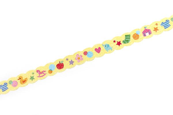 Pine Book Nami Nami Deco Washi Tape - 8 mm - Toy - PINE BOOK TM00123