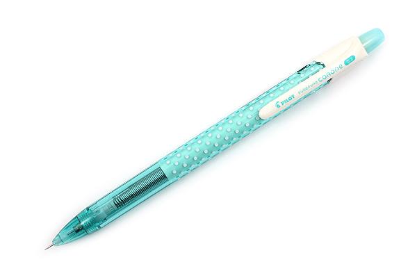 Pilot Fure Fure Corone Shaker Mechanical Pencil - 0.3 mm - Dot & Green - PILOT HFC-20R3-DG