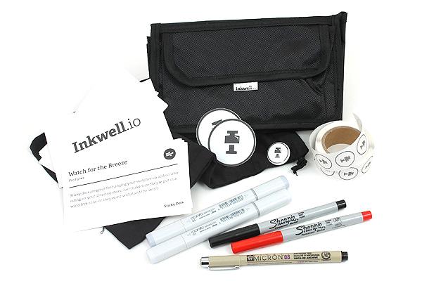 Inkwell Sketch Kit 1 - JETPENS INKWELL BUNDLE 1