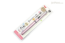 Pentel Kirari Pocket Brush Pen - Medium - Sakura Pink Body - PENTEL XGFKPP-A
