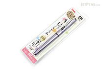 Pentel Kirari Portable Brush Pen - Medium - Fuji Purple Body - PENTEL XGFKPV-A