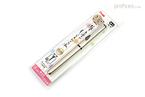 Pentel Kirari Portable Brush Pen - Medium - Gold Body - PENTEL XGFKPX-A