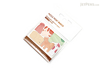 Midori Puzzle Point Marker Adhesive Notes - Dogs - MIDORI 11716-006