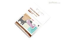 Midori Puzzle Point Marker Adhesive Notes - Cats - MIDORI 11717-006