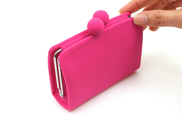 P+G Sepa-Pochi Card and Coin Case - Magenta - P+G SEPAPO MG