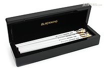 Palomino Blackwing Pencil - Pearl - Pack of 10 in Grand Piano Box - PALOMINO 103692