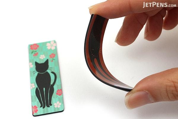 Kurochiku Magnetic Bookmark - Neko (Cat) - KUROCHIKU 71212701