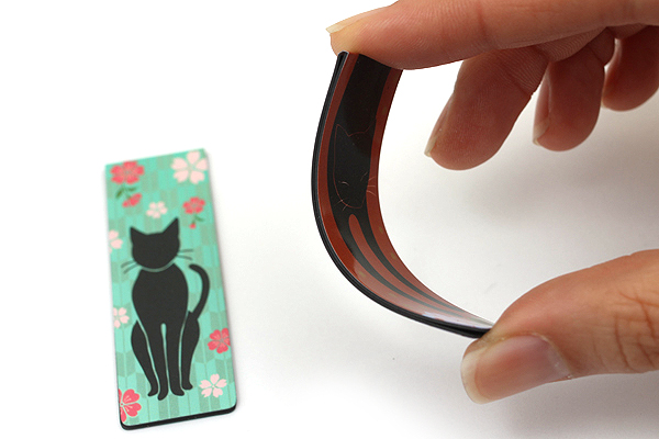 Kurochiku Magnetic Bookmark - Neko (Cat) - KUROCHIKU 71212701