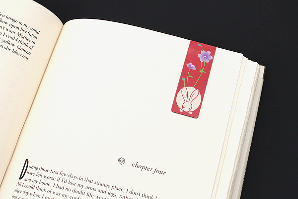 Kurochiku Magnetic Bookmark - Usagi (Rabbit) - KUROCHIKU 71212702