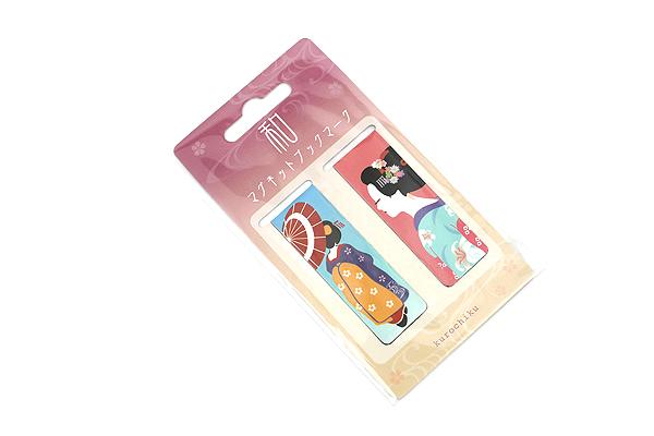 Kurochiku Magnetic Bookmark - Maiko (Apprentice Geisha) - KUROCHIKU 71212704