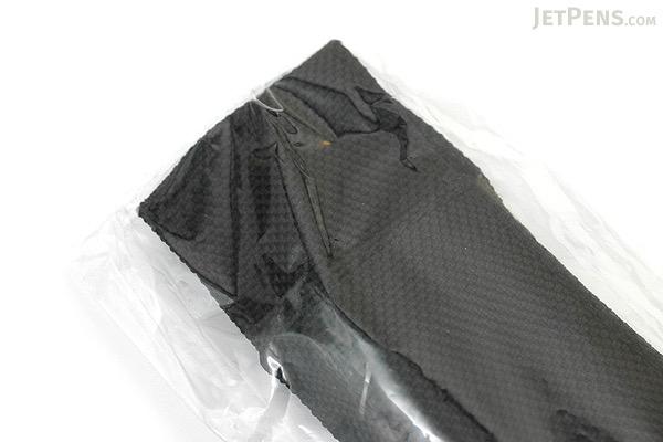 Quiver Double Pen Holder for A5 Large Notebooks - Nylon Black - QUIVER RLH-2-105-SYN-BLK