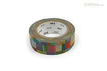 MT Patterns Washi Tape - Mosaic Bright - 15 mm x 10 m - MT MT01D176
